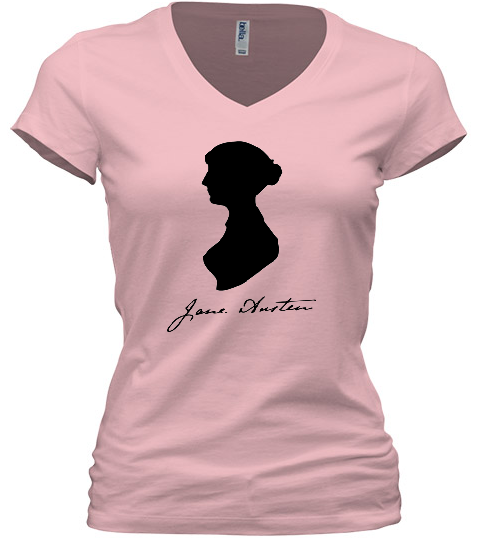 jane-austen-pink-women's-v-neck