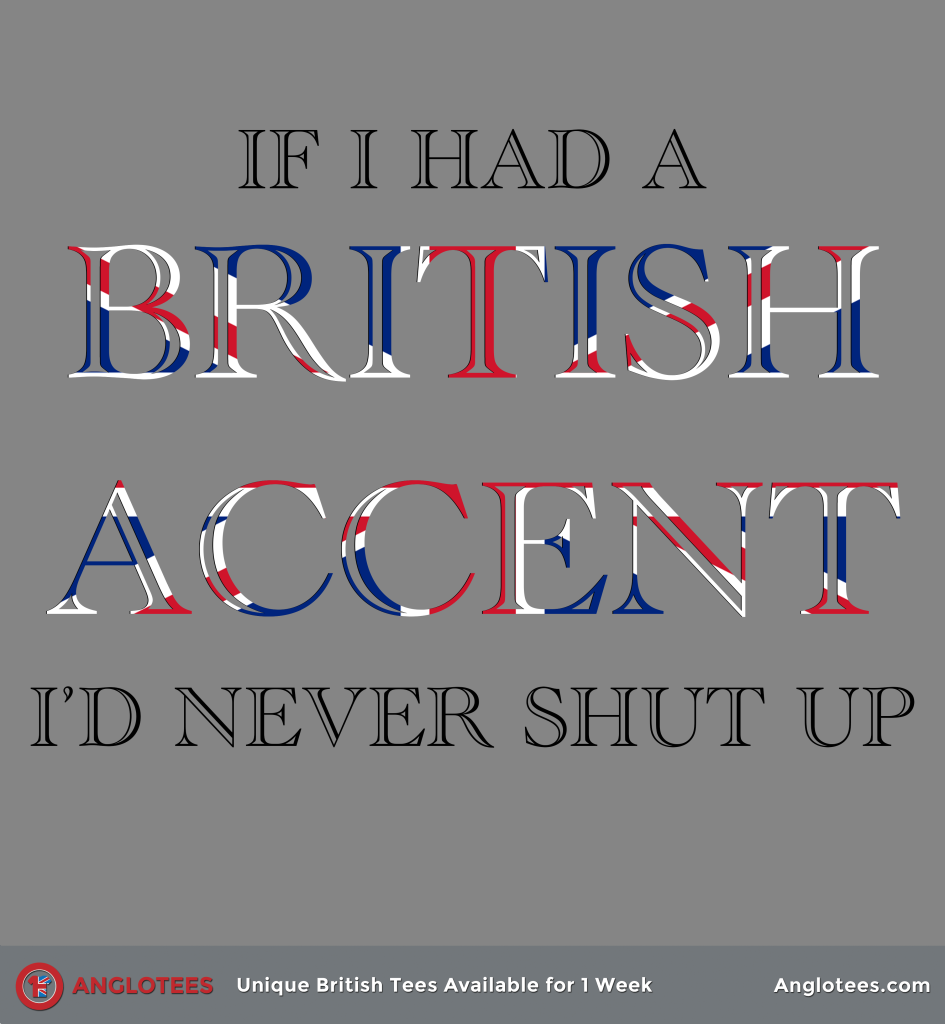 British accent was sexiest, while 18.41% went for Scottish.