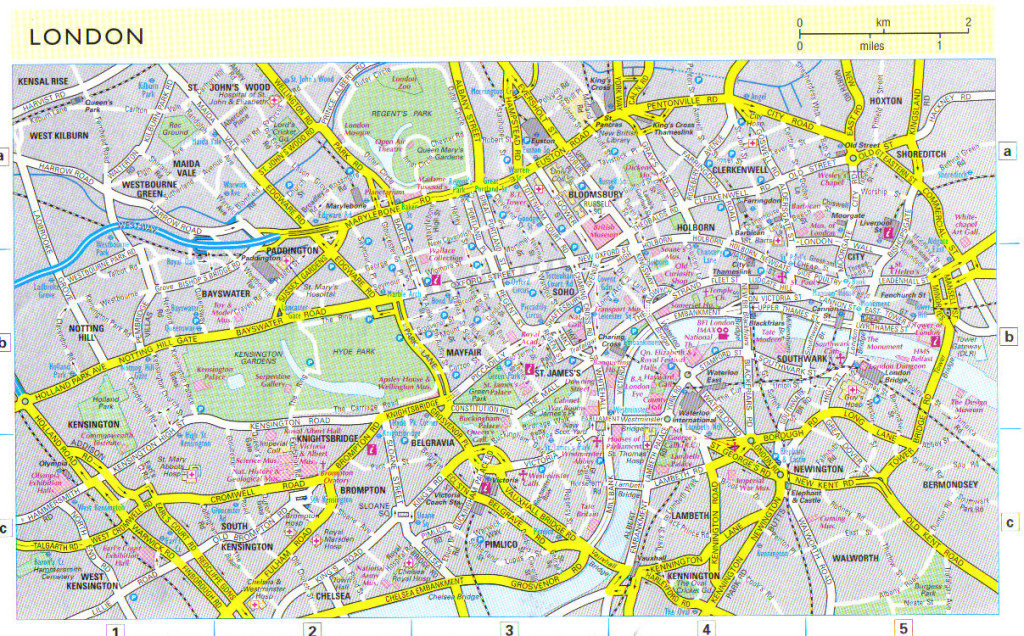 London-City-Map
