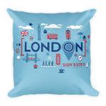 London Life – Square Pillow