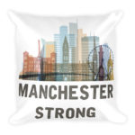 Manchester Strong – Square Pillow