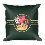 British Rail Square Pillow