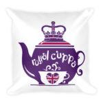 Royal Cuppa Square Pillow