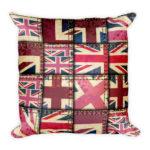Union Jack Collage – Square Pillow
