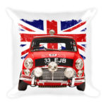 1964 Rally Mini Cooper S – Square Pillow