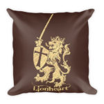 Lionheart – Square Pillow