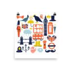 London Autumn – Poster