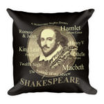 The Bard – Square Pillow