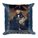 England Expects Nelson Tribute – Square Pillow