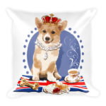 Royal Corgi – Square Pillow