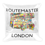 Routemaster London – Square Pillow
