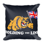 Holding the Line – Square Pillow