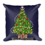 Christmas Treasures – Square Pillow
