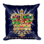 Christmas Crown – Square Pillow
