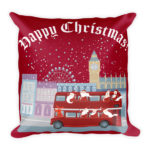 Cheeky Father Christmas – Square Pillow