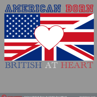American Born, British at Heart