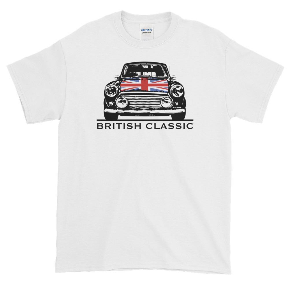 Austin Vintage// Classic car inspired embroidered polo shirt  Gildan